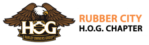 Rubber City HOG Logo
